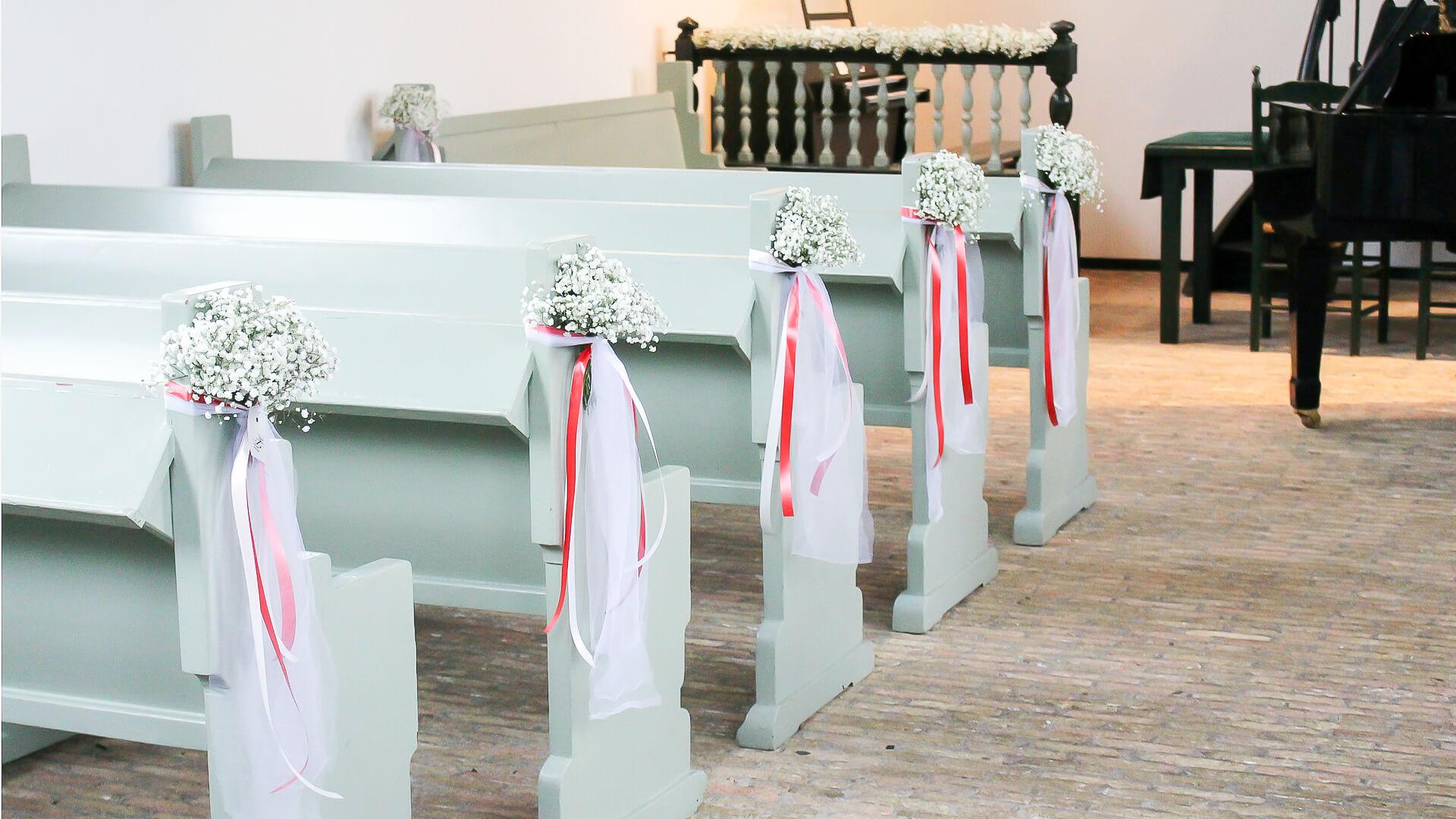 Locatiestyling Lijn 10, styling, trouwen, gipskruid, kerk aankleden, bruidswerk, locatie, trouwen, fotografie lijn 10, Zuidhorn